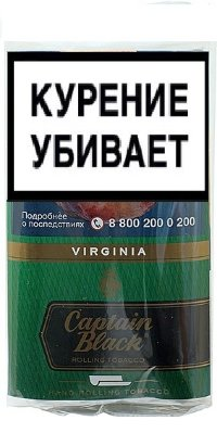 Табак для сигарет CAPTAIN BLACK Virginia(*30)