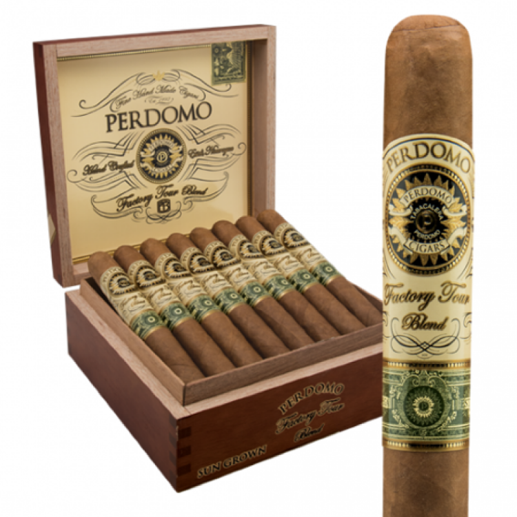 Сигара Perdomo Factory Tour Blend Epicure Sun Grown