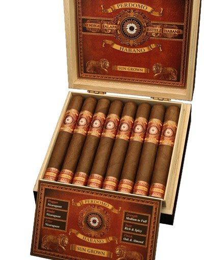 Сигара Perdomo Habano Bourbon Barrel Aged Gordo Sungrown
