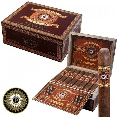 Сигара Perdomo Habano Bourbon Barrel Aged Robusto Sungrown